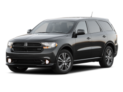 2012 DODGE DURANGO  - Front View