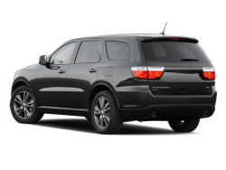 2012 DODGE DURANGO  - Rear View