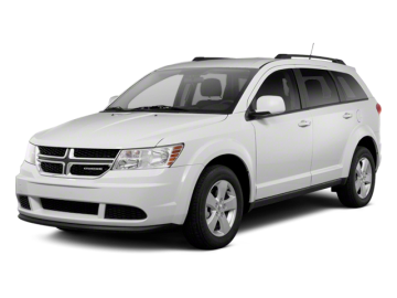2012 DODGE JOURNEY CREW AWD - Front View