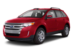 2012 FORD EDGE  - Front View