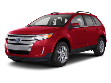 2012 FORD EDGE SPORT - Front View