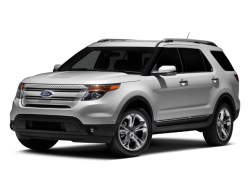 2012 FORD EXPLORER  - Front View