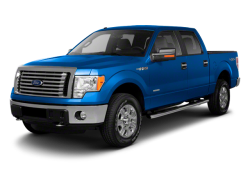 2012 FORD F-150  - Front View