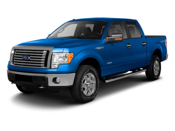 2012 FORD F-150 SUPERCREW - Front View