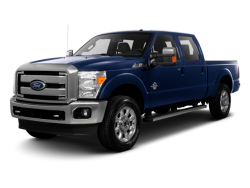 2012 FORD F-250  - Front View