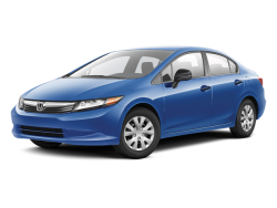 2012 HONDA CIVIC SEDAN  - Front View