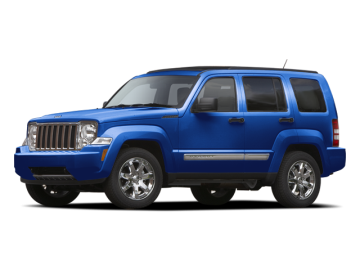 2012 JEEP LIBERTY SPORT - Front View