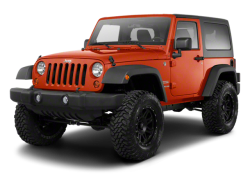 2012 JEEP WRANGLER  - Front View