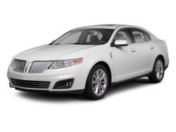 2012 LINCOLN MKS  - Front View