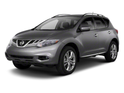 2012 NISSAN MURANO  - Front View