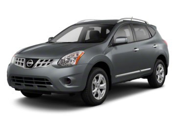 2012 NISSAN ROGUE S - Front View