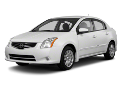 2012 NISSAN SENTRA  - Front View