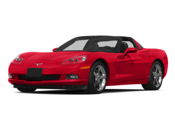 2013 CHEVROLET CORVETTE  - Front View
