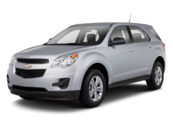 2013 CHEVROLET EQUINOX  - Front View