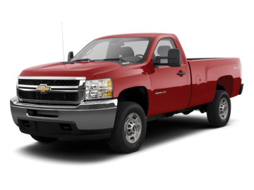 2013 CHEVROLET SILVERADO 2500 HEAVY DUTY LT - Front View