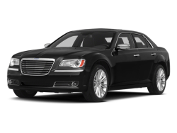 2013 CHRYSLER 300 4d Sedan S Glacier V8 AWD - Front View