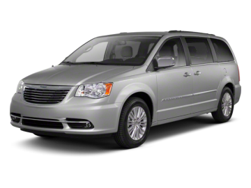 2013 CHRYSLER TOWN & COUNTRY TOURING - Front View