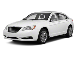 2013 CHRYSLER 200 LX - Front View
