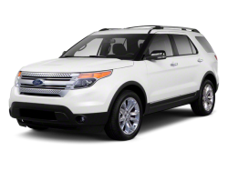 2013 FORD EXPLORER  - Front View