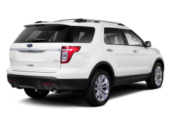 2013 FORD EXPLORER  - Rear View