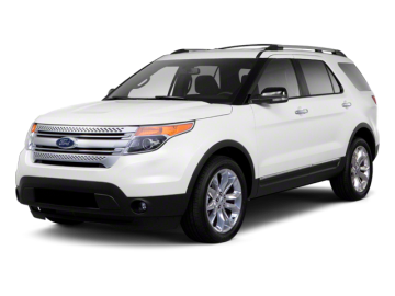 2013 FORD EXPLORER XLT - Front View