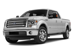 2013 FORD F-150  - Front View