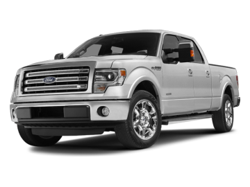2013 FORD F-150 SUPERCREW - Front View