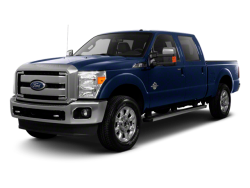 2013 FORD F-250  - Front View