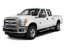 2013 FORD F-350  - Front View
