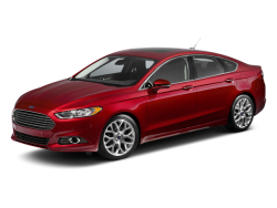 2013 FORD FUSION  - Front View