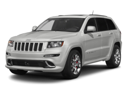2013 JEEP GRAND CHEROKEE SRT8 - Front View