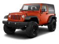 2013 JEEP WRANGLER  - Front View