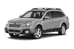2013 SUBARU OUTBACK  - Front View