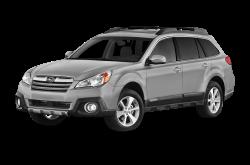 2013 SUBARU OUTBACK 2.5i Premium AWD WHITE PEARL - Front View
