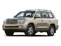 2013 TOYOTA LAND CRUISER  - Front View