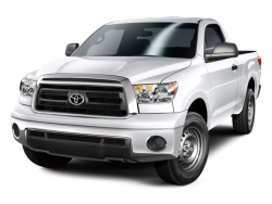 Used 2013 TOYOTA TUNDRA - Front View