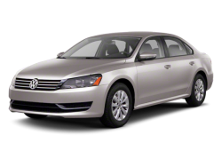 2013 VOLKSWAGEN PASSAT SEDAN  - Front View