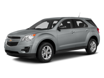2014 CHEVROLET EQUINOX LS AWD - Front View