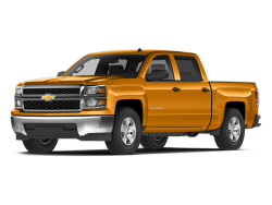 Used 2014 CHEVROLET SILVERADO 1500 1500 Marshall Minnesota - Front View