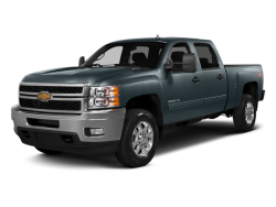 2014 CHEVROLET SILVERADO 2500HD  - Front View