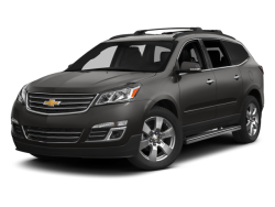 Used 2014 CHEVROLET TRAVERSE LTZ - Front View