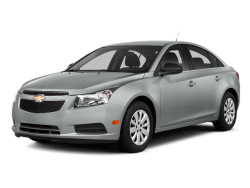 2014 CHEVROLET CRUZE 4d Sedan LT2 AT - Front View