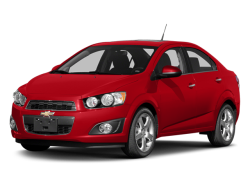 Used 2014 CHEVROLET SONIC LT - Front View