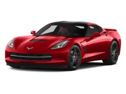 2014 CHEVROLET CORVETTE STINGRAY Coupe - Front View