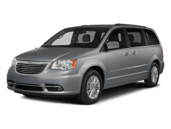 USED 2014 CHRYSLER TOWN & COUNTRY Marshall Minnesota - Front View