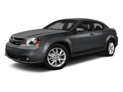 2014 DODGE AVENGER  - Front View