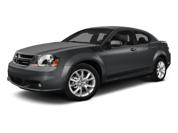 2014 DODGE AVENGER SE - Front View