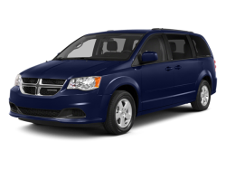 2014 DODGE GRAND CARAVAN BLACKTOP 30TH ANNIVERSARY - Front View