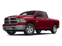 2014 RAM 1500 SLT BIG HORN QUAD CAB - Front View