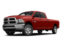 USED 2014 RAM 2500 CREW PICKUP - Front View